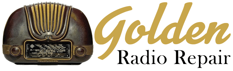 Golden Radio Repair – Tube Radio Repair, Antique Radio Repair, Old Radio Repair, Car Radio Repair