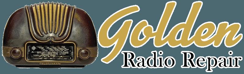 Golden Radio Repair – Tube Radio Repair, Antique Radio Repair, Old Radio Repair, Car Radio Repair
